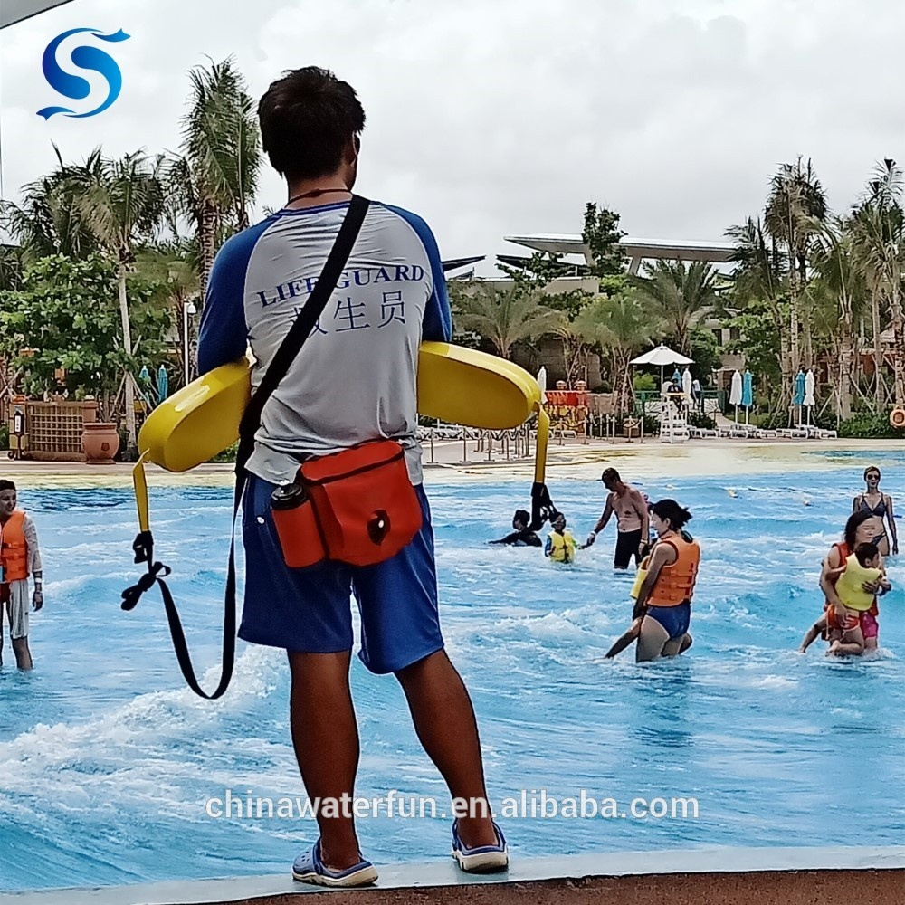 Waterpark Lifeguard Equipment Red or Yellow WaterFun Rescue Tube