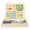 Wonderful Multi-functional Help Kids Learn Spell Read Write Count Wooden Magnetic Box Educational Kids Toy