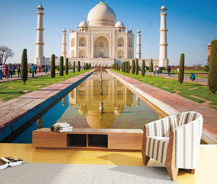 3D Pop Up Card Taj Mahal Buildings Famous Gift Creative New Hot Greeting Cards