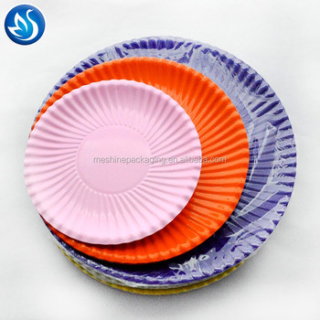 Customer Printed Disposable Bulk paper plates