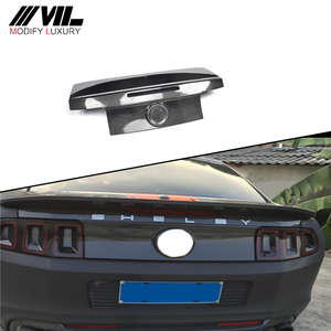 Carbon fiber Auto GT500 Trunk lid cover for Ford Mustang 2013-2014