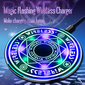Great Free Shipping RAXFLY 5W 10W Universal Mobile Phone Charging Pad Fantasy Qi Magic Wireless Charger