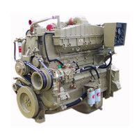 Hot sale 6 Cylinders 4 Stroke Water Cooling Marine Cummins Diesel Engine NTA855-M