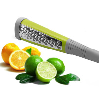 Best Sale 2019 Hot Selling Cooking Tool Double-sided Stainless Steel Sharp Blade Citrus Lemon Zester Grater Cheese Planer