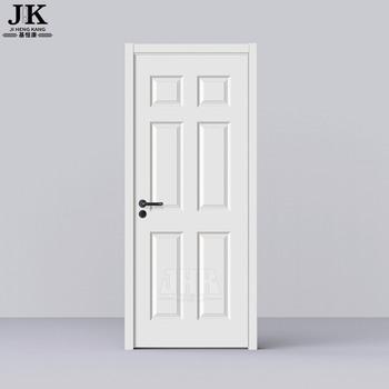 Jhk-006 6 Panel Interior Doors White Prehung Fully Finished White Interior Doors - Buy 6 Panel
