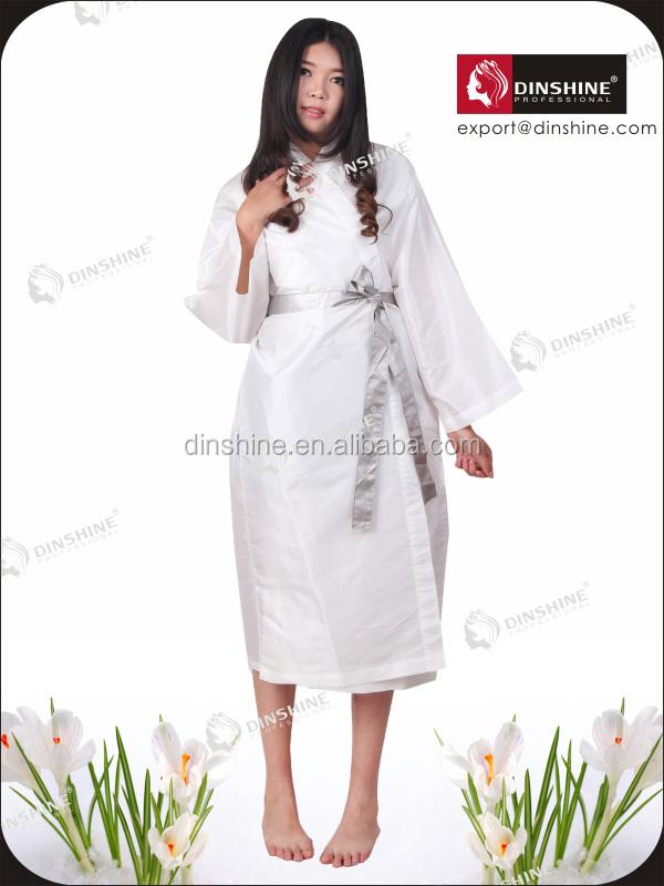 Hair Salon Wrap,Hair Nylon Robes,Salon Kimono Wrap - Buy Salon ...