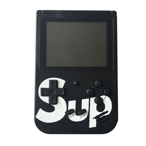 400 game consolec puzzle game box SUP with 3 inch screen