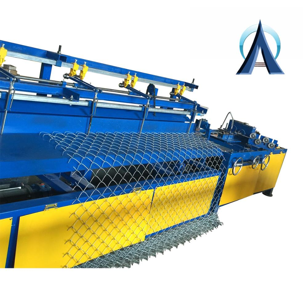 Customized Chain Link Fence Making Machine / Chain Link Fence <strong>Equipment</strong> 9.5KW