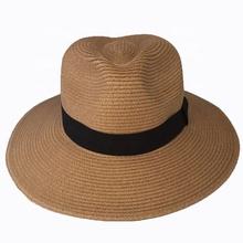 abb842dc Add to Favorites. Wholesale Good Quality Customized Chapeau Fedora Panama  Straw Hat