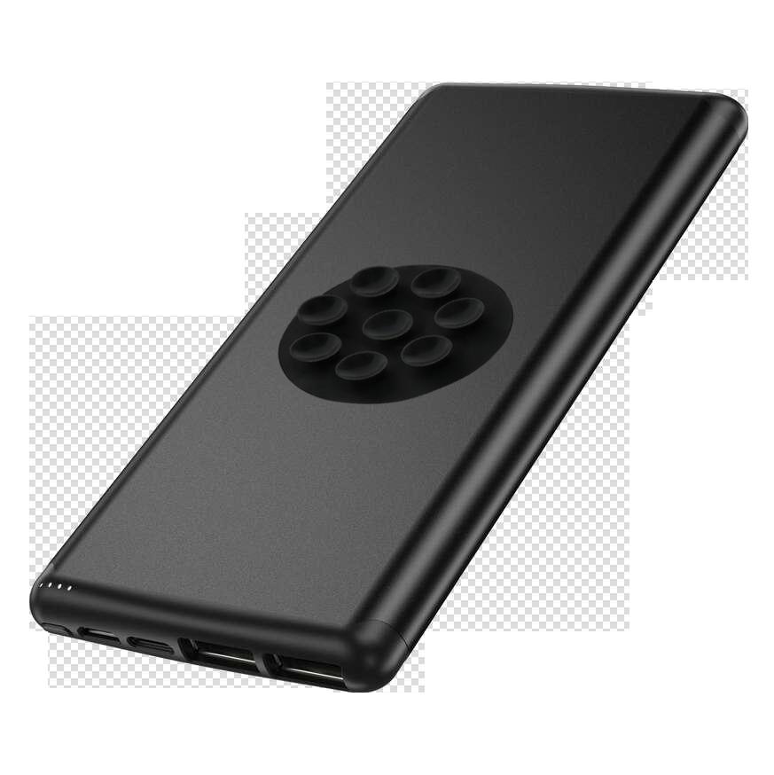 2019 Nuovo Mini 10000 mah 2 Porte USB 2in1 Banca di Potere Prodotti di Tendenza Portatile Qi Wireless Powerbank per Il Iphone uso, per il Tipo C