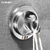 Decorative Stainless Steel Household Wall j Rotate Chrome Metal Hook