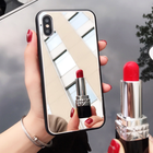 2019 Luxury Mirror Shockproof Phone Cases For iPhone X XR XS Max Case For iPhone 6 6S 7 8 Plus 5s 5 SE Soft TPU Back Cover