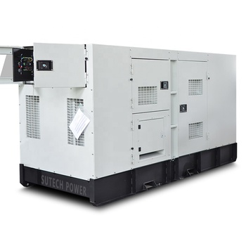 60hz 200kw silent canopy generator diesel 250 kva electric genset with engine 6CTAA8.3-G2