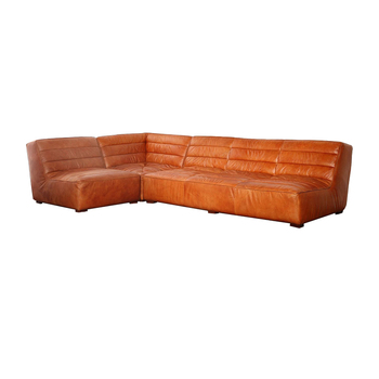 Sectional Real Leather Sofa Sets