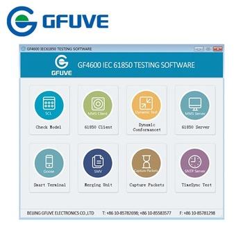 Smart Grid Substation Test Equipment,Gf4600 Iec61850 Protocol Analyzer For  61850 Software Testing - Buy Iec 61850 Protocol Analyzer,Iec 61850 Scl
