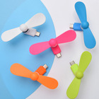 Fan Fan Fan Plastic Material Promotion Gift Mini USB Cooler Fan For Apple Phone Android Mini Fan