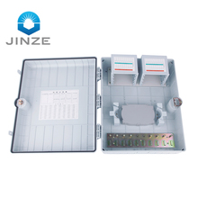 64 72 96 Core Kekuatan Tinggi Fiber Optic Distribution Box PC ABS Bahan