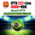 Brazil IPTV  For Android TV BOX 227 Live 4000+ VOD Channels with 4K Channels IP TV Free trial 72 hours