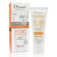 Disaar SPF 90 Sunblock Sun Protection Screen Moisturizer Whitening Organic Sunscreen Cream