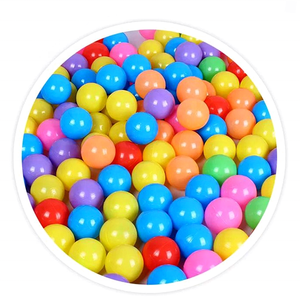 Hot-selling Colorful Various Size 550mm 70mm 80mm Plastic Ball Pit Ball with low price