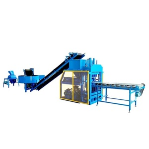 HBY4-10 Compressed Earth Lego Bricks Moulding Machine Supplier