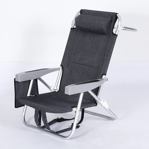 Wondrous Lightweight Foldable Tommy Bahama Beach Chair With Pvc Coating Fabric Squirreltailoven Fun Painted Chair Ideas Images Squirreltailovenorg