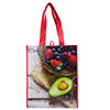 Custom Grocery Foldable Shopping Tote Bag D Cut Non-Woven Fabric Shopping Bag