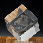 Factory Directly 3D Laser Blank Crystal Glass Tower Cube Memento Gift Ideas