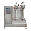 Quality products two station full automatic,the big production dry chemical powder fire extinguisher filling machine