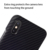 Aramid Fiber phone case for 2018 NEW Apple iPhone X matte with metal plate Thin(0.7MM)Super Light (14G)