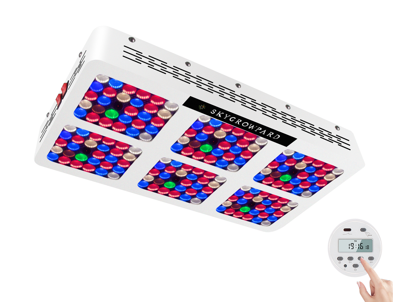 wholesale amazon hot sales led grow light with timer built in