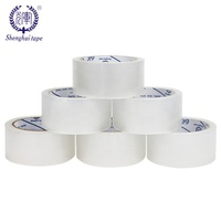 Custom Packing Bopp Tape Low Noise Clear Opp Adhesive Packaging Shipping Carton Box Sealing Tape