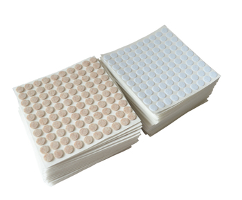 Wholesale new products self-stick bulk furniture round adhesive Felt Pads for hard surfaces chair legs