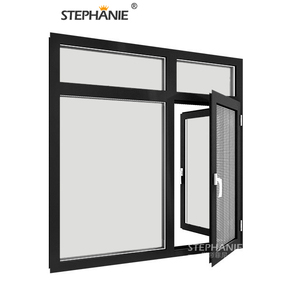 China Supplier outwarding window exterior double glazed for villa