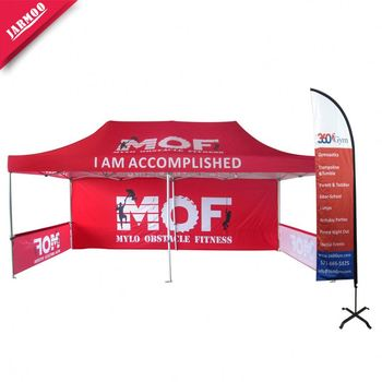 Fast Delivery hexagonal canopy Digital Custom logo printing tent