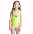 New Fashion Custom Logo Kids Swimsuit One Piece Lovely Girls Bikini Kids Children Swimwear