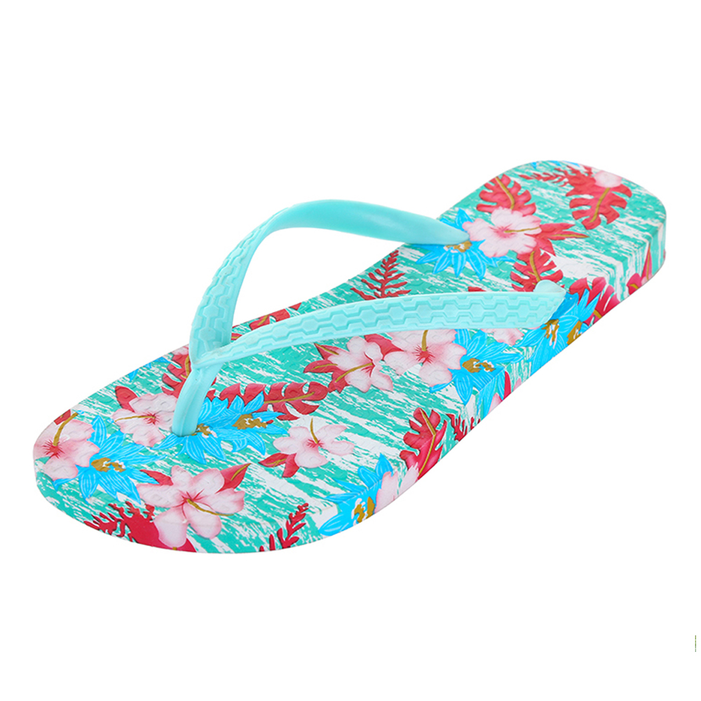 2019 New pvc plain flip flops lady custom wholesale beach <strong>slippers</strong>