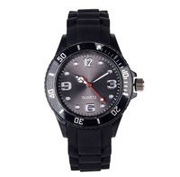 Hot sale wristwatch led sports dial silicone watch
