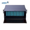 "APP11 19"" 4U 96 fibers Sliding-out type patch panel Support to install 12 pcs LGX MPO cassettes or adapter panel"