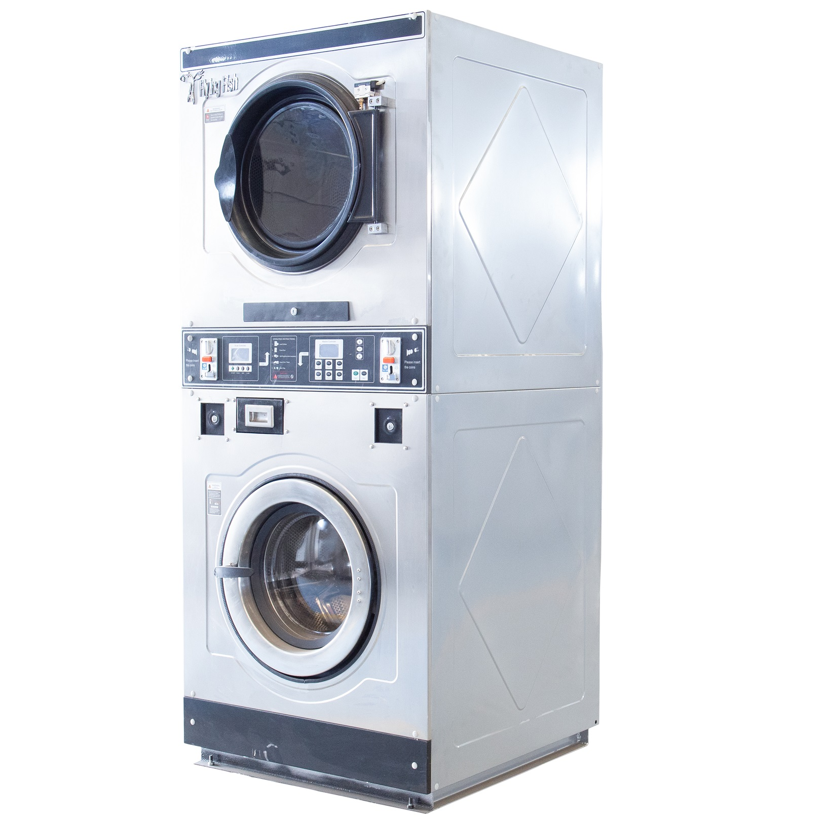 Stacked Washer And Dryer,Commercial Laundry Equipment,Washing Machine,Self  Service,Coin Operated - Buy Commercial Laundry Equipment,Commercial Washing
