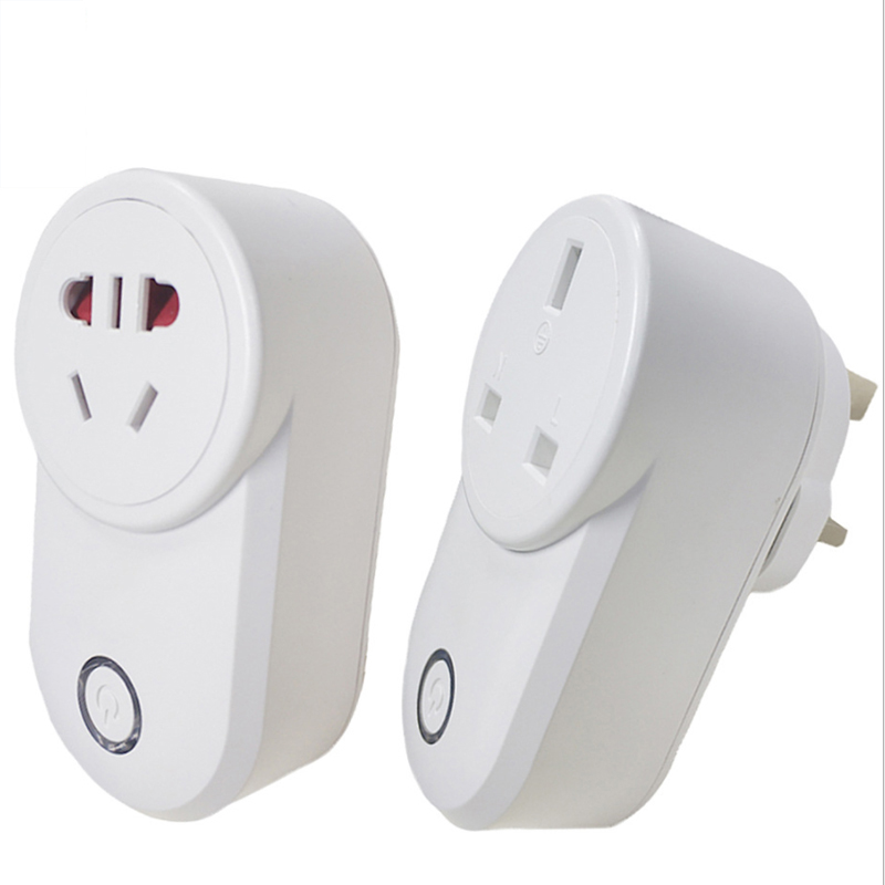 Uk Plug Gsm Switch For Home Appliances 220v Smart Switch Telephone Rc Remote Wireless Control Smart Switch Gsm Socket Power Eu Computer Cables & Connectors