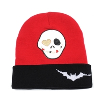 Professional Design Cheap Good Quality Beanies With Skulls