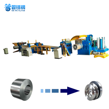 GXG-450 Stainless Steel Sheet strip Narrow Band High-Speed Metal Coil Slitting Machine