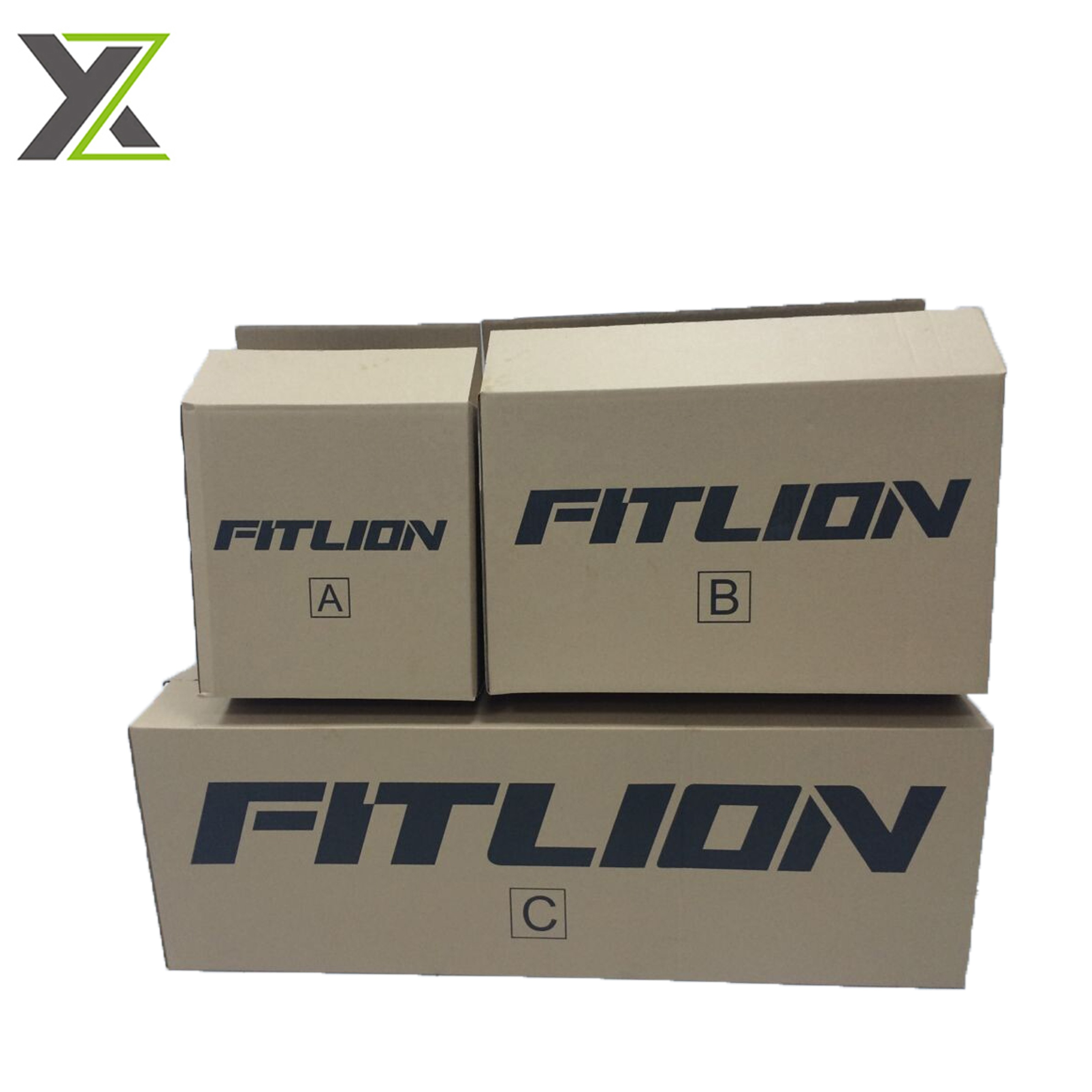 The belt and road custom corrugated carton box for Fitness Equipment