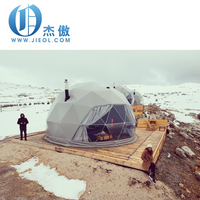 Heavy Duty High Quality 6m diameter Outdoor Tourism Hotel Room Camping Dome Tent