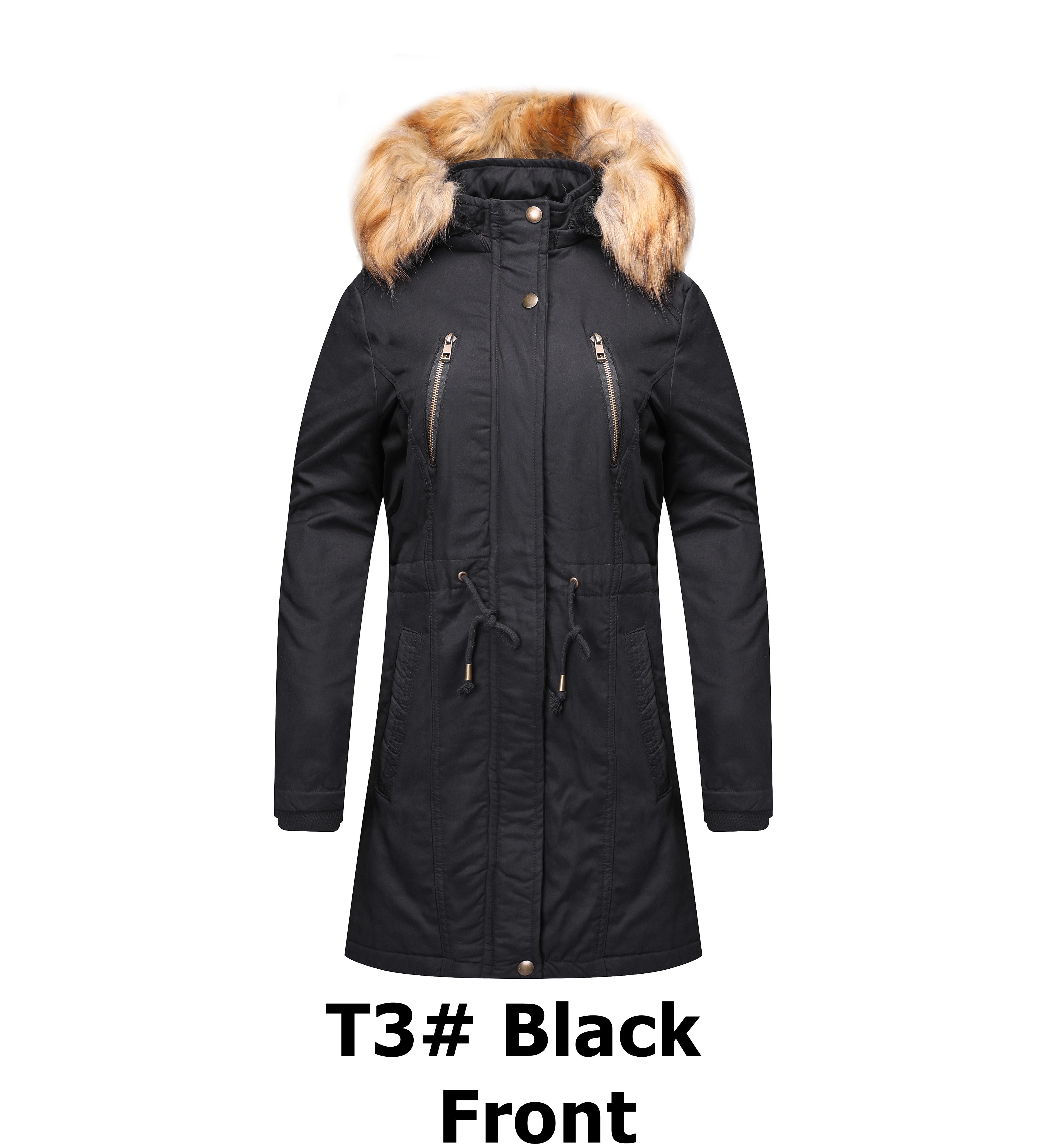 9e80538489ecf Personnalisé polyester longue à capuche femme hiver manteau cape manteau de  fourrure de vison manteau pour