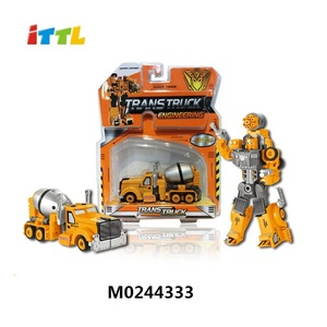 Shantou best supplier alloy truck toy transform truck mini metal toy truck for kids