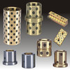 customize Self lubrication oilless bronze bushing for agricultural machine and engine parts