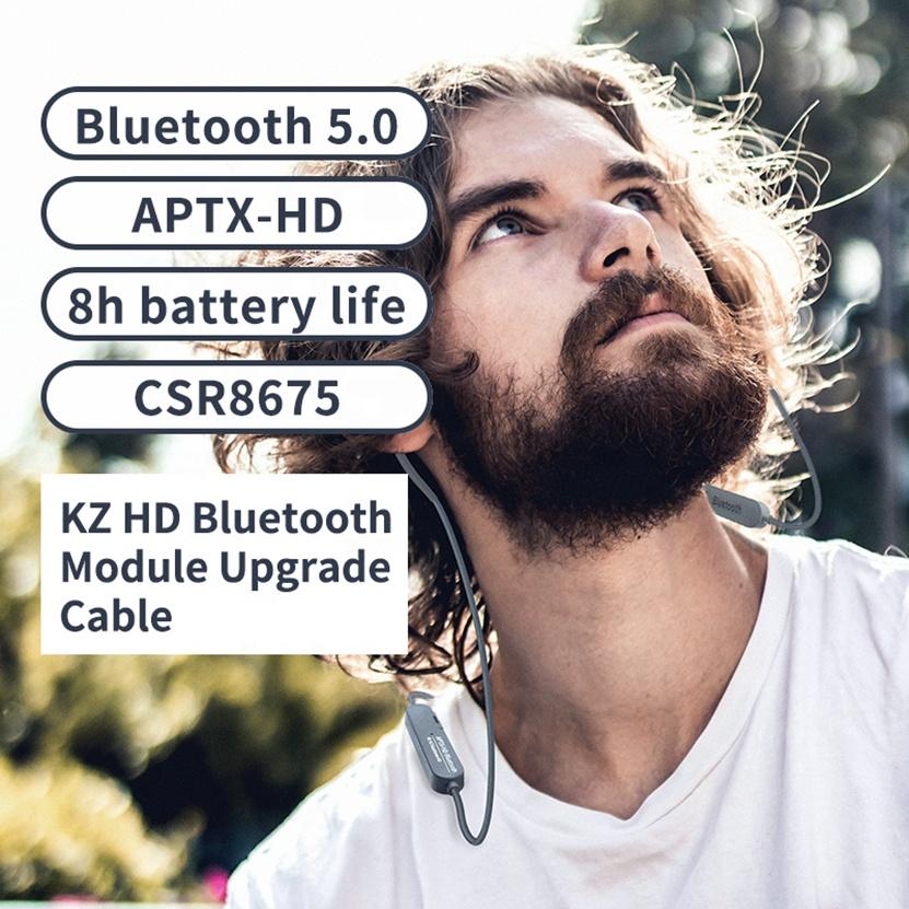 KZ Aptx HD CSR8675 Bluetooth Module Earphone 5.0 Wireless Upgrade Cable