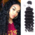 100 Virgin Peruvian Premium Remy Hair Extensions Deep Wave Bundles With Lace Frontal Closure